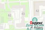 Схема проезда до компании Атмосфера в Кирове