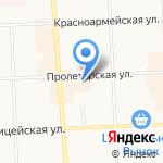 Златушка на карте Кирова