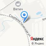 ЦСК Киров на карте Кирова