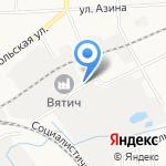 Бар-пивная на карте Кирова
