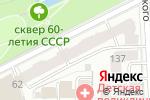 Схема проезда до компании Управляющая компания Тектон-Сервис в Кирове