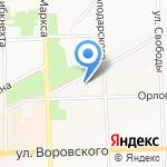 Проф-Паркет на карте Кирова