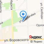 Индекс на карте Кирова