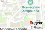 Схема проезда до компании Советская в Кирове