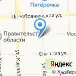 Отдельный судебный состав Пермского гарнизонного военного суда на карте Кирова