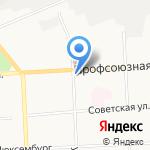 Агентство по организации прогулок на теплоходе по Вятке на карте Кирова