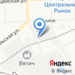 ЭЙС на карте Кирова