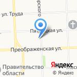 Одаренные дети Вятки на карте Кирова