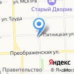 Отрада на карте Кирова