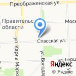 Городская служебная почта на карте Кирова