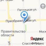 Вятский техникум экономики на карте Кирова