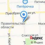 Академия финансов на карте Кирова