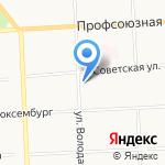 Вернисаж на карте Кирова