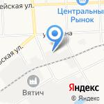Планета обуви на карте Кирова
