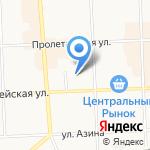 Строитель43 на карте Кирова