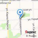 Адвокат Вершинин В.И. на карте Кирова