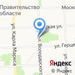 Детское село на карте Кирова