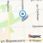 Добрая тётя на карте Кирова