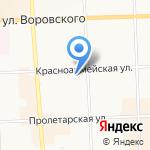 Ступени на карте Кирова