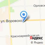 Vespucci на карте Кирова