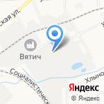 Трикотаж трейд на карте Кирова