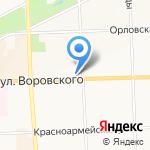 Макс-М на карте Кирова