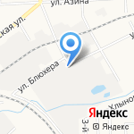 Октан на карте Кирова