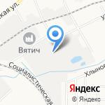 Газосвет на карте Кирова