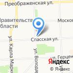 БИГ на карте Кирова