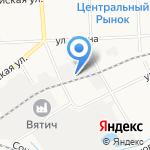 Магазин обуви на карте Кирова