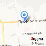 Парикмахерская на карте Кирова
