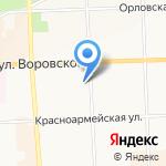 Бассейн-киров.рф на карте Кирова