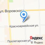 Кировская государственная медицинская академия на карте Кирова