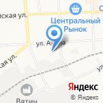 Экс на карте Кирова
