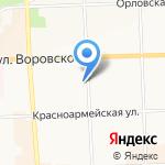 Клиника на карте Кирова