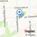 Харизма на карте Кирова