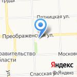 Вятка-Эко на карте Кирова