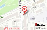 Схема проезда до компании Лифтсервис в Кирове