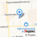Жигули на карте Кирова