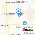 Гамма-Дент на карте Кирова