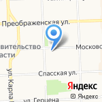 Фармакор на карте Кирова