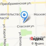 Туристско-информационный центр Кировской области на карте Кирова