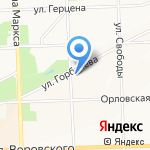 Прима Дент на карте Кирова