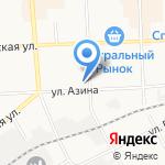 Бриз на карте Кирова