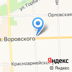 Неболейка на карте Кирова