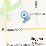 ВЕЛЛ на карте Кирова