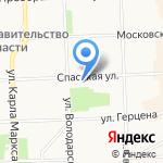 Ленинский районный суд на карте Кирова