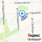 Петербургский лицей на карте Кирова