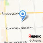 Интердикт на карте Кирова