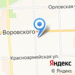 Цап-Царап на карте Кирова